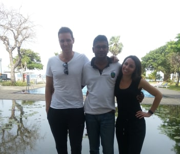 With James & Stefni from Australia