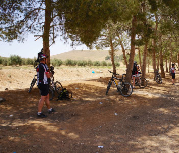 Cycling at Tafilah