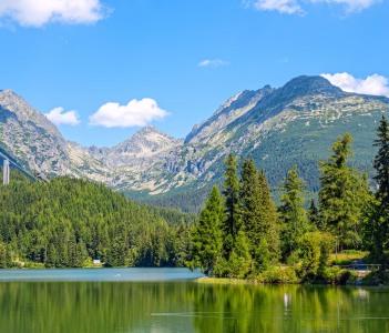 High Tatras Mountains. High Tatry. Slovakia