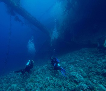 Divers in Aqaba
