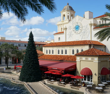 City Place in West Palm Beach, Florida