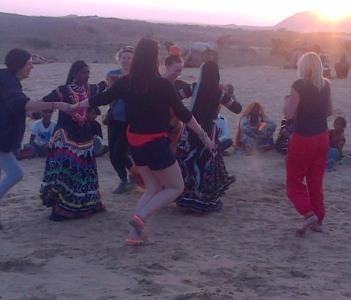 Gypcy Dance at desert