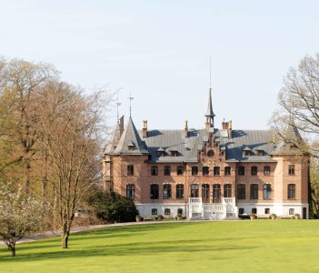 The castle Sofiero and the park owned by the swedish royal family.