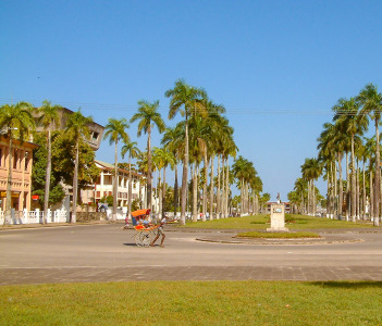Place de la République of Toamasina (Tamatave), Madagascar