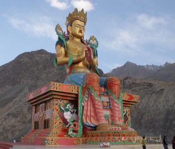 Maitrya Buddha, Diskit, Nubra Valley