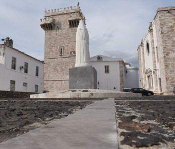 Tres Coroas Tower Estremoz Alentejo region Portugal