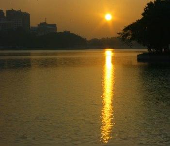 Sunrise Ulsoor lake