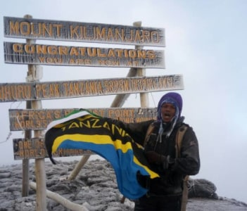 The roof of Africa Mount Kilimanjaro