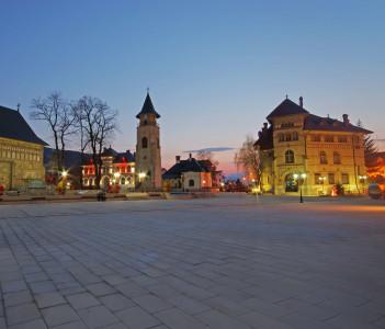City Square in Piatra Neamt