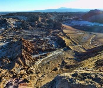 Moon valley in Atacama Antofagasta