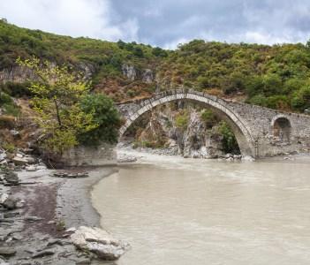 Permet Albania (The Wobblin' Sprocket) at the hot spring