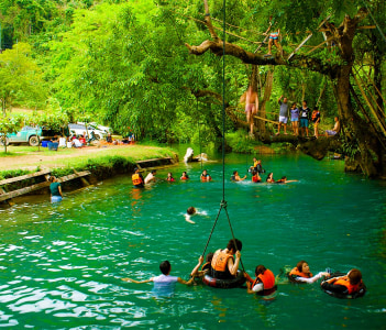 Blue Lagoon at Tham Poukham