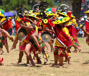 Warriors Dance from Panagbenga Festival