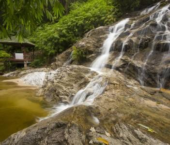 Johor Taman Negara Waterfall