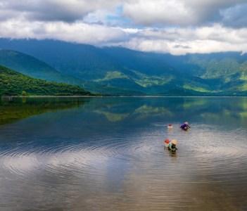Beautiful Lap An Lagoon