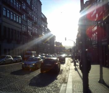 A sunny city