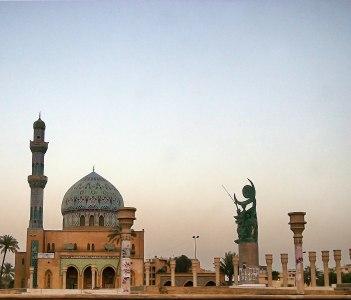Firdaus square Baghdad in Kirkuk Iraq