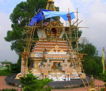 Ornate Stupa