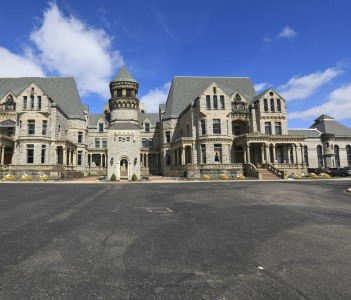 The Ohio State Reformatory in Mansfield Ohio, USA is on the register of historical places