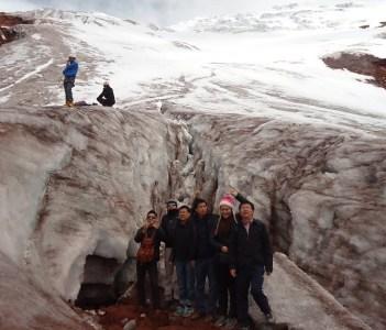 glaciers 5.100msnm