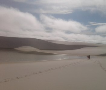 The amazing landscape of Lençóis Maranhenses National Park