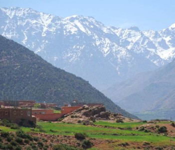 Berber Villages in the High atlas