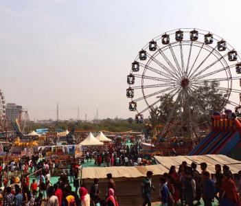 Surajkund Public craft fair in Surajkund Faridabad