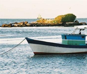 Barco no Rio Macaé