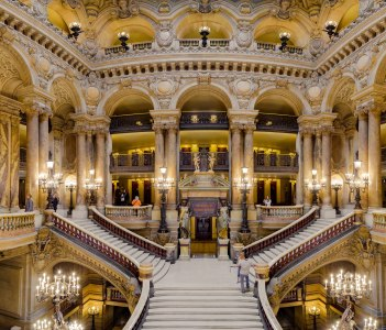 Opera National de Paris Garnier, France