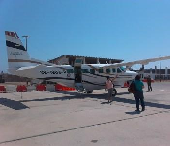 Nasca Overflight plane Cessna 208