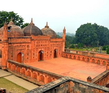 Shah Niamatullah Mosque in Chapai Nawabganj Bangladesh
