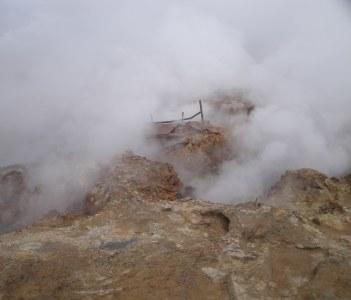 Gunnuhver geyser.