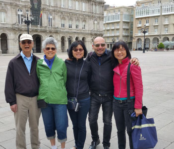 Tour in Coruna