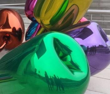 Tulips by Jeff Koons Guggenheim Museum