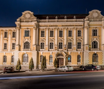 Courthouse Csikszereda Miercurea Ciuc Romania
