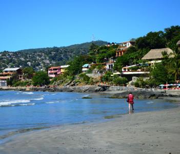 Playa la Madera in Zihuatanejo,Guerrero, Mexico
