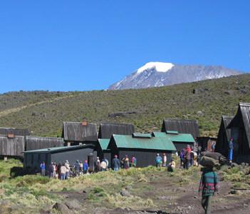 Horombo hut 3720m
