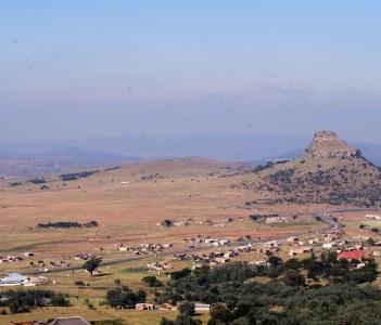 Oopen Field in Isandlwana