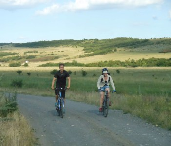 Cycling MTB tour in Nature