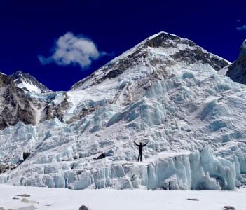 Khumbu Ice Fall, EBC
