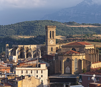 Basilic of Manresa Catalonia Spain