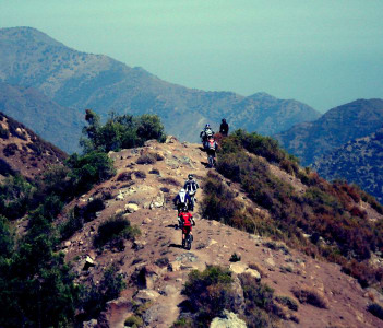 Riding Los Andes, Chile