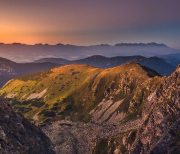 Mount Dumbier in Low Tatras Slovakia