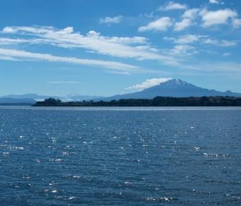 Volcánes Osorno y Calbuco