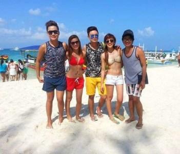 SC Team in Boracay