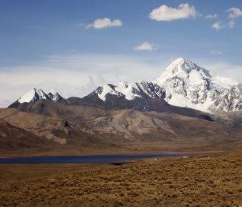 Huayna Potosi Glacier