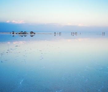 Salt Flat in the Danakil depression