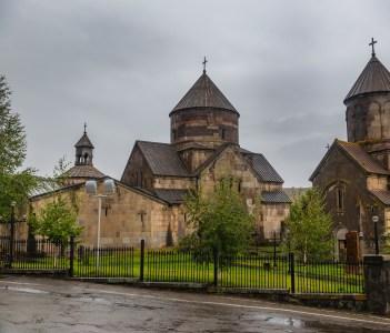 Kecharis medieval Armenain monastic complex Tsaghkadzor Armenia