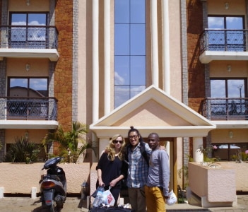 Tour in Antsirabe in front of Royal palace