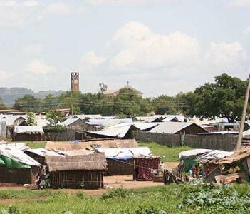 houses in Juba, Southern Sudan